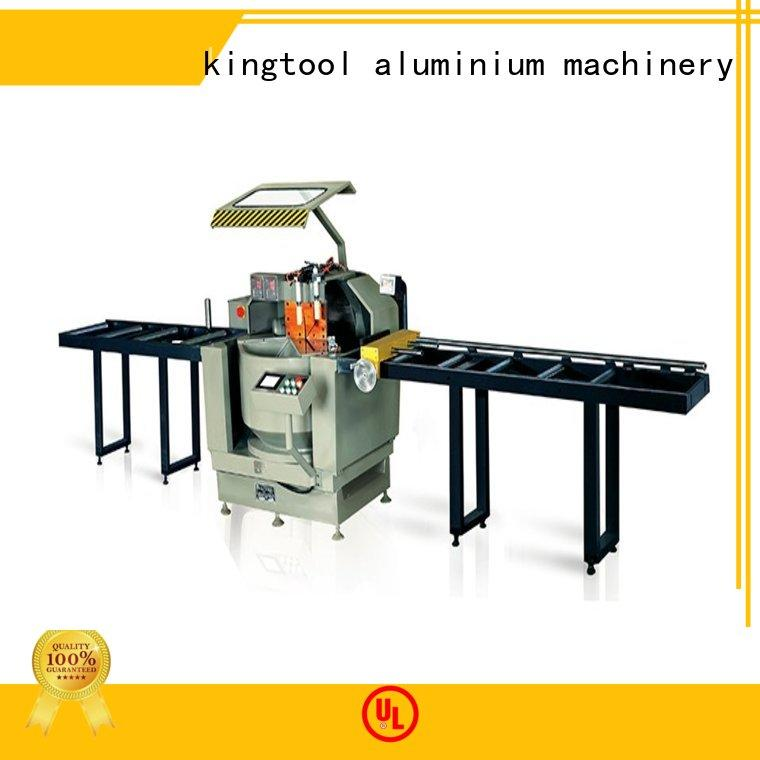kingtool aluminium machinery curtain single head saw bulk production for grooving