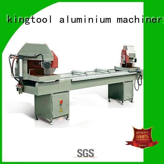 kingtool aluminium machinery adjustable aluminium sheet cutting machine for aluminum door in plant