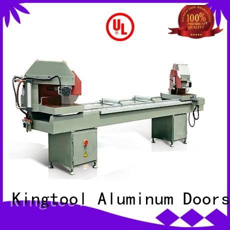 kingtool aluminium machinery stable aluminum cutting machine for plastic profile in workshop