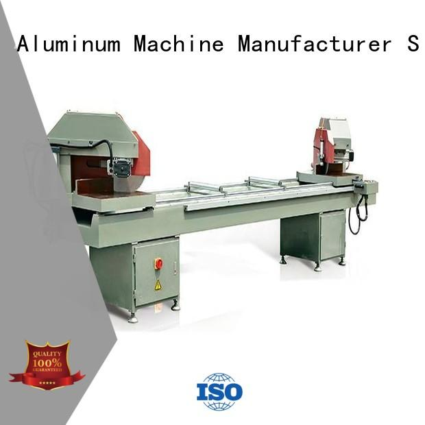 durable aluminium extrusion cutting machine manual for aluminum curtain wall in plant