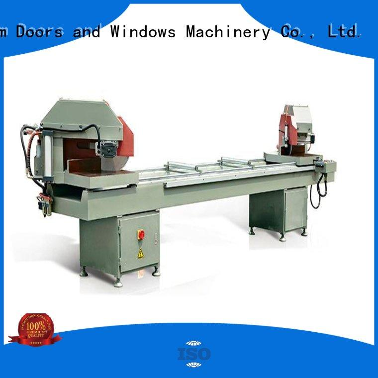 eco-friendly electronic cutting machine readout for plastic profile in plant
