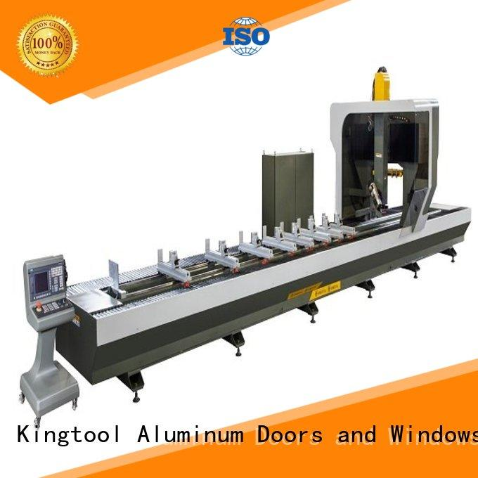kingtool aluminium machinery eco-friendly cnc router machine price with good price for steel plate