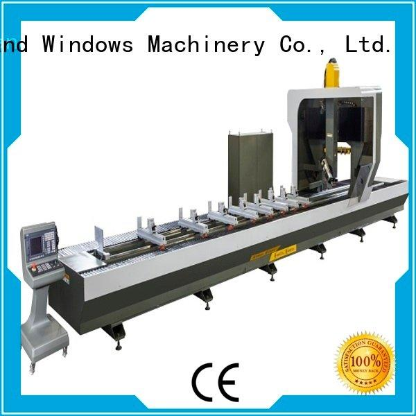 kingtool aluminium machinery Brand panel aluminium double aluminium router machine cutting