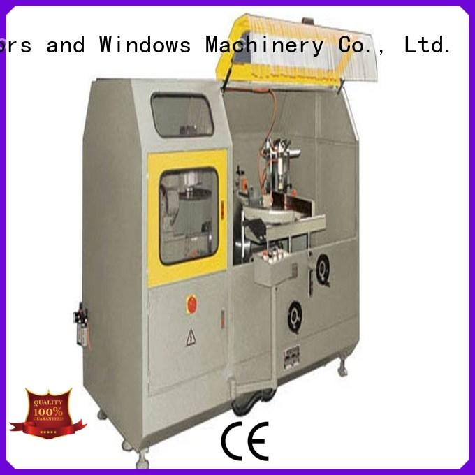 kingtool aluminium machinery notching aluminum curtain wall cutting machine in plant