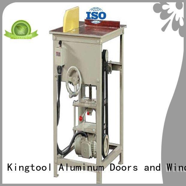 Hot aluminium cutting machine price automatic aluminum single kingtool aluminium machinery Brand
