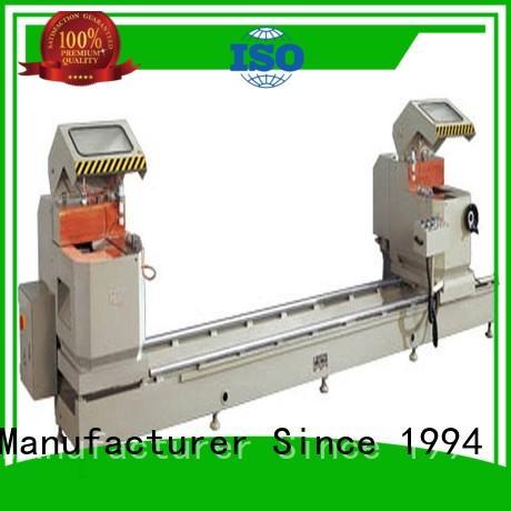easy-operating cnc aluminium cutting machine for aluminum door in factory kingtool aluminium machinery