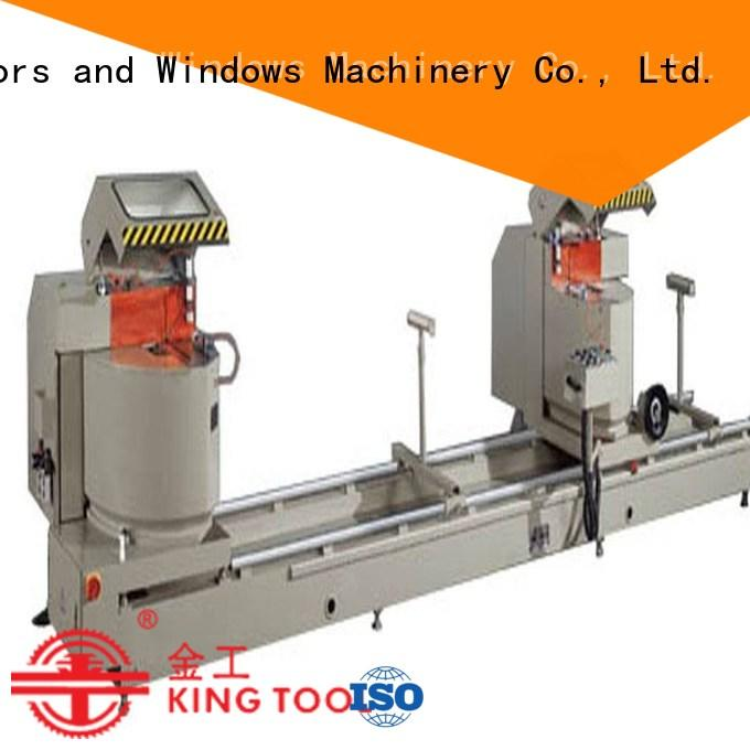 angle aluminium cutting machine manufacturers wall in workshop kingtool aluminium machinery