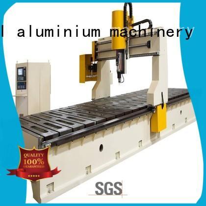 kingtool aluminium machinery Brand double-head machine aluminium router machine router factory