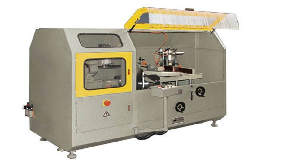 kingtool aluminium machinery KT-318A Aluminum Curtain Wall Notching Saw Machine Aluminium Curtain Wall Machine image2