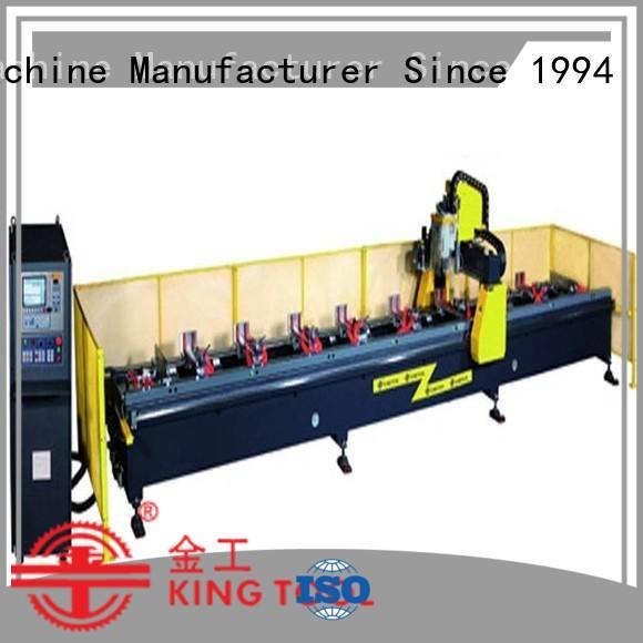 Hot cnc router aluminum 5axis kingtool aluminium machinery Brand