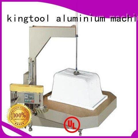 kingtool aluminium machinery Brand digital trimming threeblade Sanitary Ware Machine sanitary