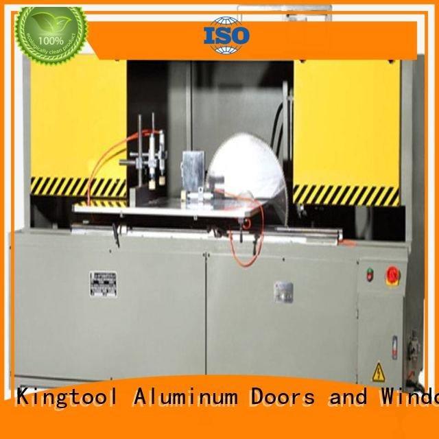 kingtool aluminium machinery head wall aluminum curtain wall cutting machine aluminum saw