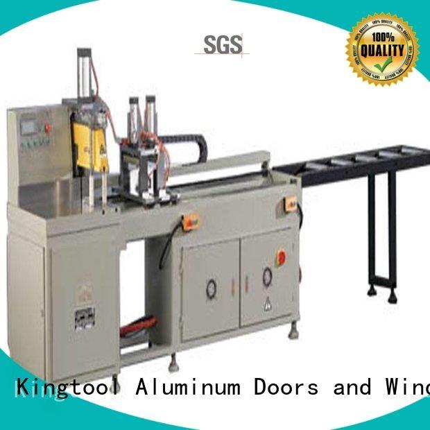 aluminium cutting machine price 3axis 45degree display kingtool aluminium machinery
