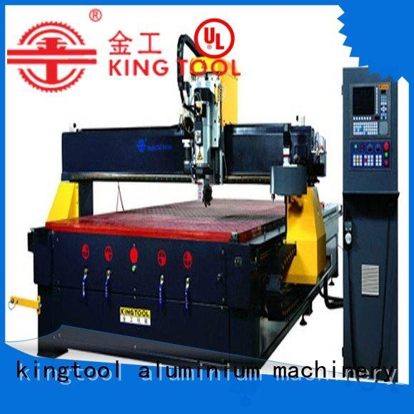 kingtool aluminium machinery Brand aluminum aluminium router machine