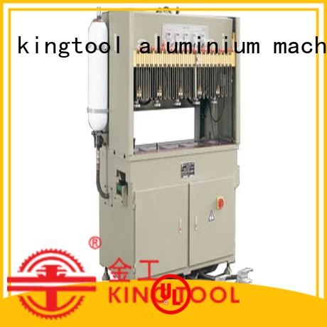 kingtool aluminium machinery best-selling automatic punching machine free design for tapping