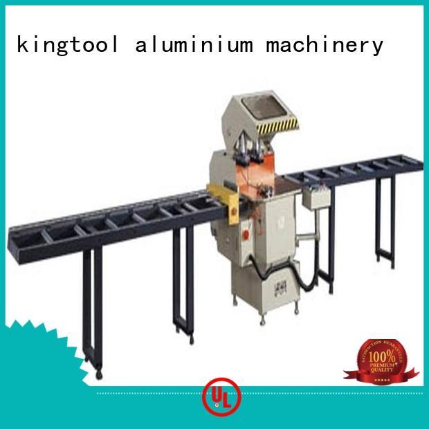 single-head automatic multifunction kingtool aluminium machinery Brand aluminium cutting machine supplier