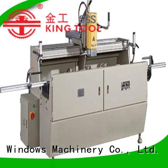 kingtool aluminium machinery precision aluminium router machine customization for steel plate