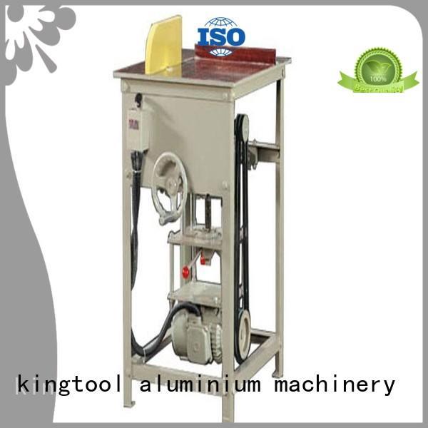 aluminium cutting machine price cnc 2axis mitre kingtool aluminium machinery Brand company