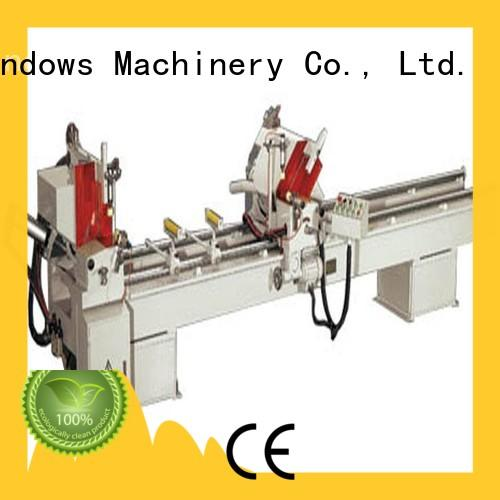 kingtool aluminium machinery machine electronic cutting machine for aluminum curtain wall in factory