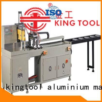 kingtool aluminium machinery al aluminium section cutting machine for plastic profile in plant