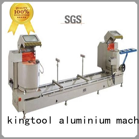kingtool aluminium machinery saw core cutting machine for aluminum window in workshop