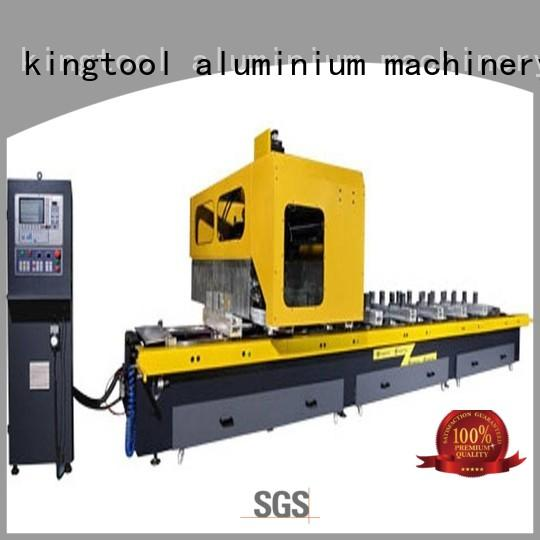 kingtool aluminium machinery Brand profile 3axis center cutting aluminium router machine