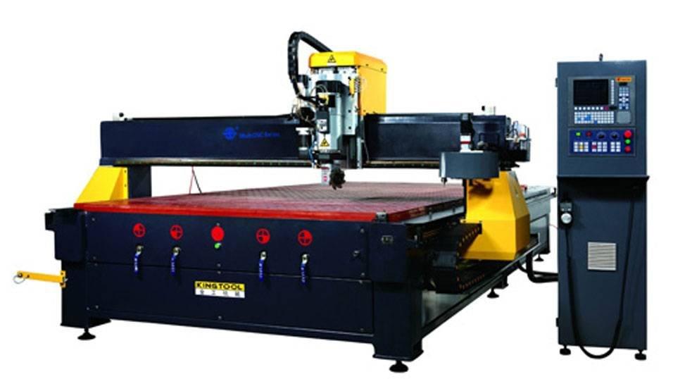kingtool aluminium machinery KT-204R CNC Panel Machining Center Aluminum Router Aluminium CNC Router image19