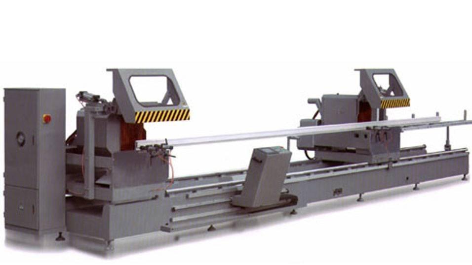KT-383F-D 3-Axis Type automatique CNC double scie à onglet en aluminium Machine de découpe