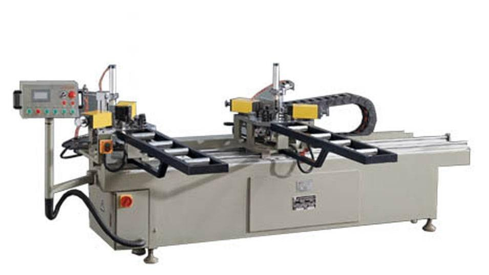 KT-338B Hydraulic Double-corner Aluminum Crimping Machine