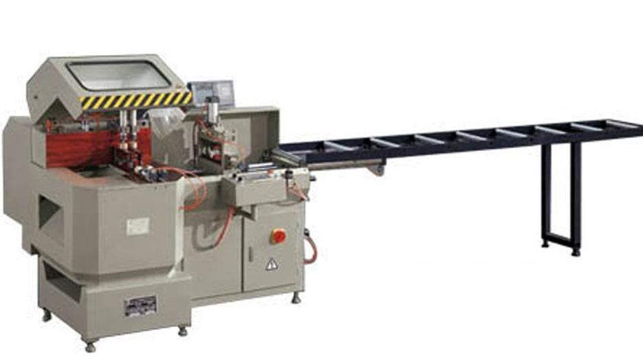 KT-328A Serra de cabeça única de alimentação automática para máquina de corte de alumínio