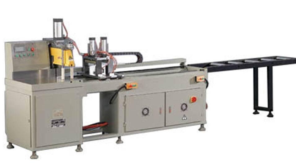 kingtool aluminium machinery KT-328D Precision Full Automatic  Aluminum Cutting Machine in Heavy Duty Aluminum Cutting Machine image18