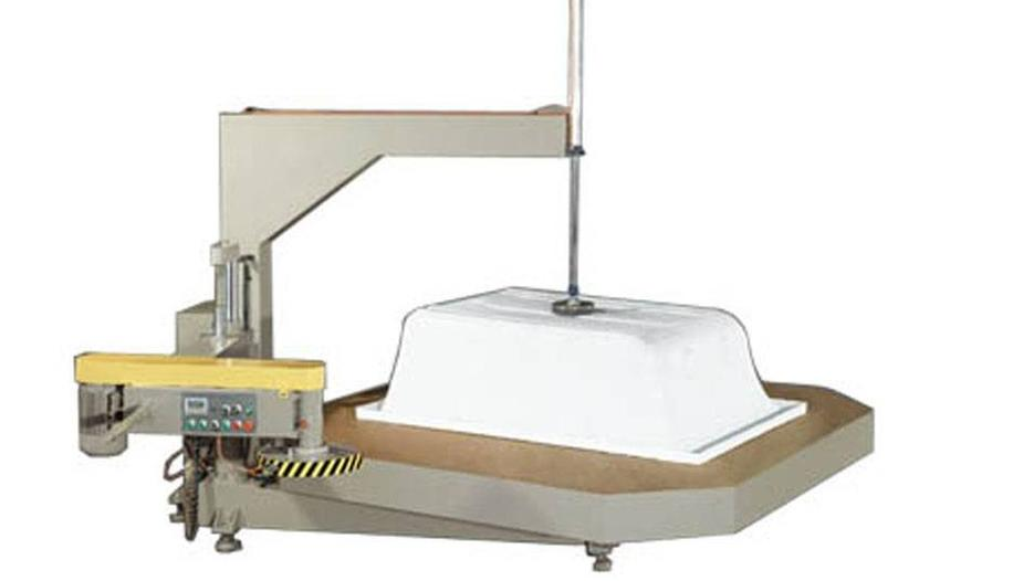 KT-398J Turntable-Type Edge Trimming Machine in Heavy-Duty For Sanitary Ware Materia