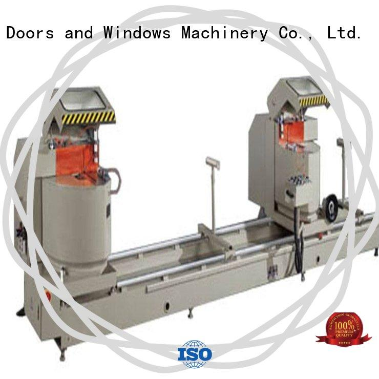 adjustable aluminium section cutting machine thermalbreak for curtain wall materials in factory