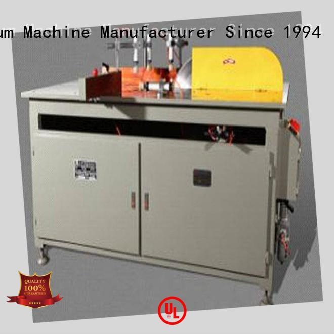 kingtool aluminium machinery double aluminium cutting machine price for heat-insulating materials in factory