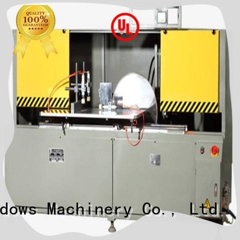 stable aluminium fabrication cutting machine curtain for curtain wall profile in plant