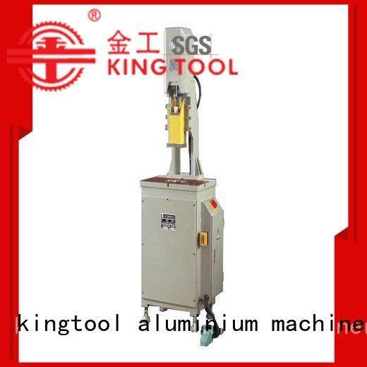 aluminium punching machine four column aluminum punching machine kingtool aluminium machinery
