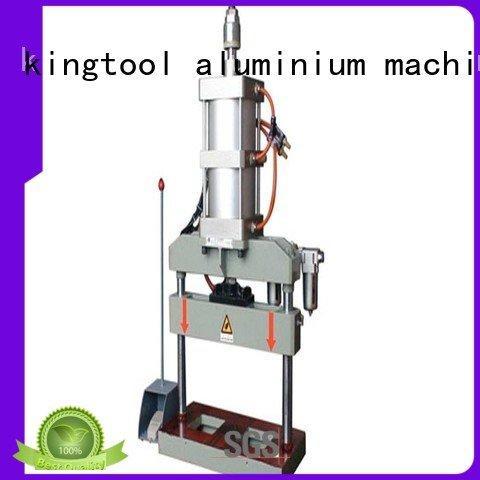 punching column aluminum punching machine double kingtool aluminium machinery