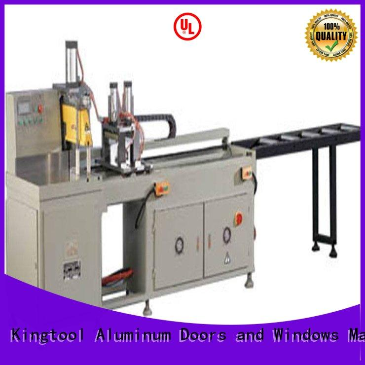 first-rate aluminium cutting machine full for aluminum door in workshop