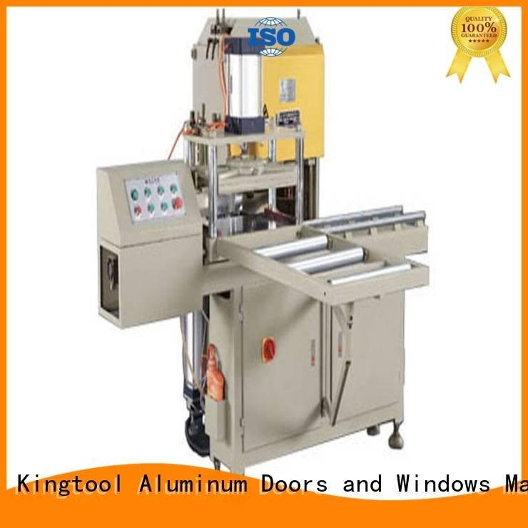 Hot sanitary profile cutting machine saw Sanitary Ware Machine materia kingtool aluminium machinery