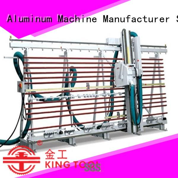 kingtool aluminium machinery adjustable acp cutting machine for heat-insulating materials in workshop