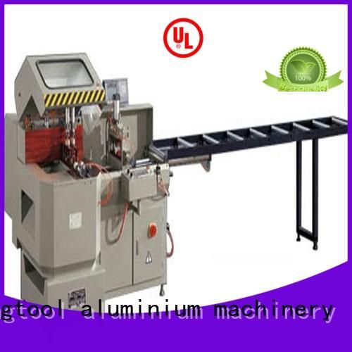 kingtool aluminium machinery first-rate automatic aluminium cutting machine for heat-insulating materials in workshop