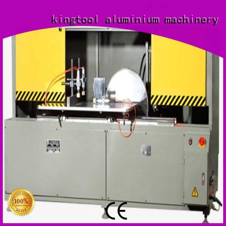 kingtool aluminium machinery best aluminium fabrication machinery for curtain wall profile in workshop