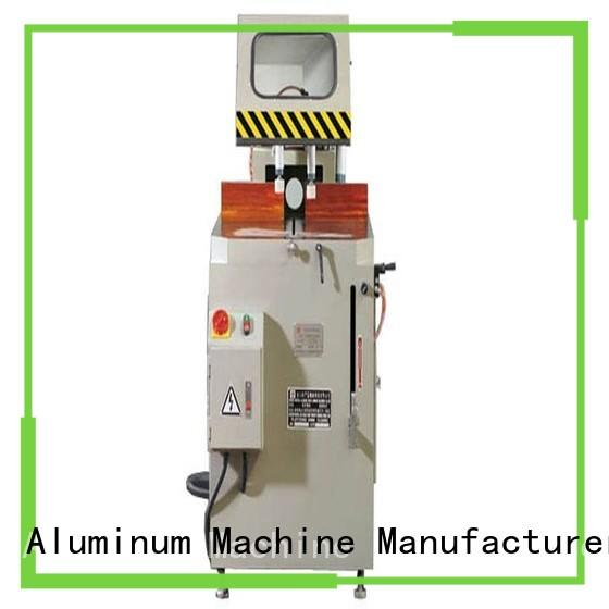 kingtool aluminium machinery single aluminium profile cutting machine for aluminum door in plant