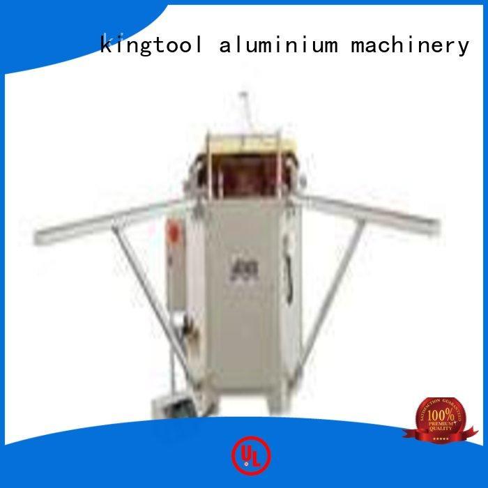 aluminum hydraulic aluminium crimping machine doubl ecorner kingtool aluminium machinery