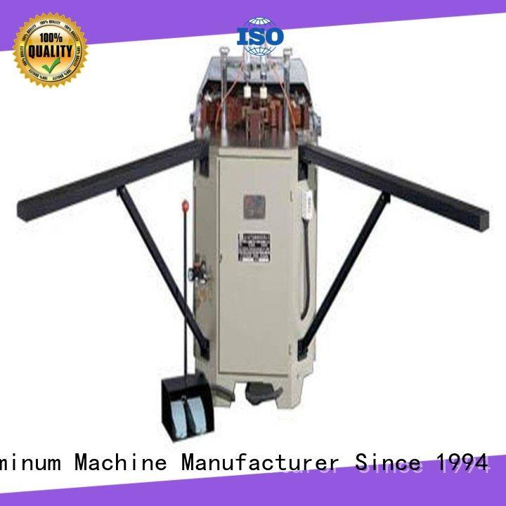 kingtool aluminium machinery inexpensive aluminium tube crimping machine factory price for metal plate