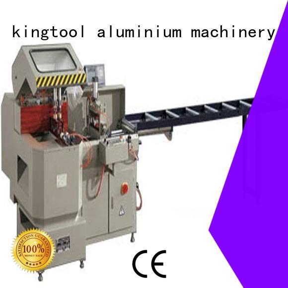 kingtool aluminium machinery machine aluminium cutting machines for heat-insulating materials in factory