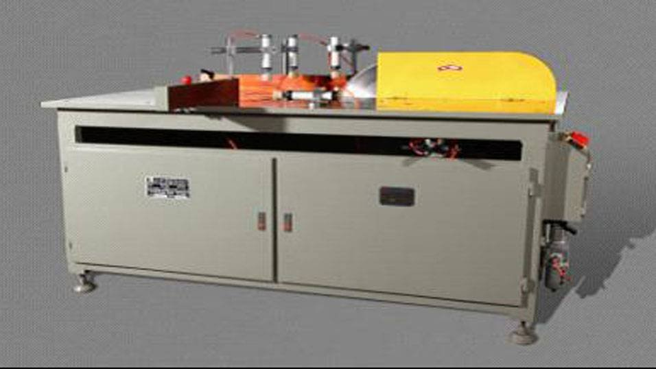 kingtool aluminium machinery KT-323A/B Manual Single Head Saw Cutting Machine for AL Curtain Wall Profiles Aluminum Cutting Machine image6