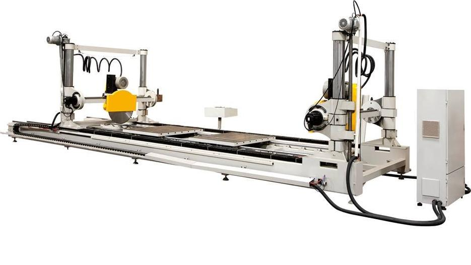 KT-DG660 CNC Double Head Aluminium Router Cutting Machine