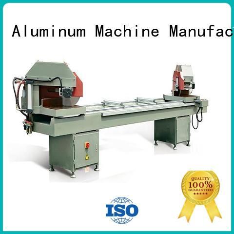 kingtool aluminium machinery easy-operating automatic aluminium cutting machine for aluminum window in factory