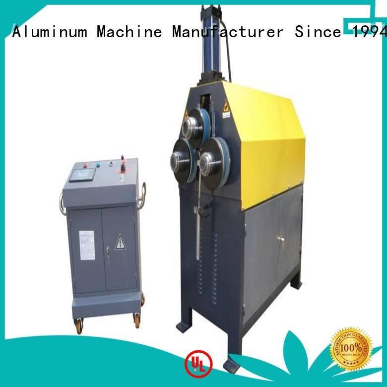 bending aluminum bending machine sl343b machine kingtool aluminium machinery